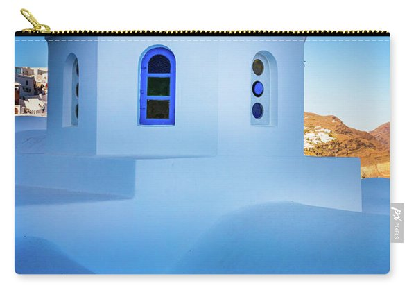 Blue Domed Chapel Carry-all Pouch