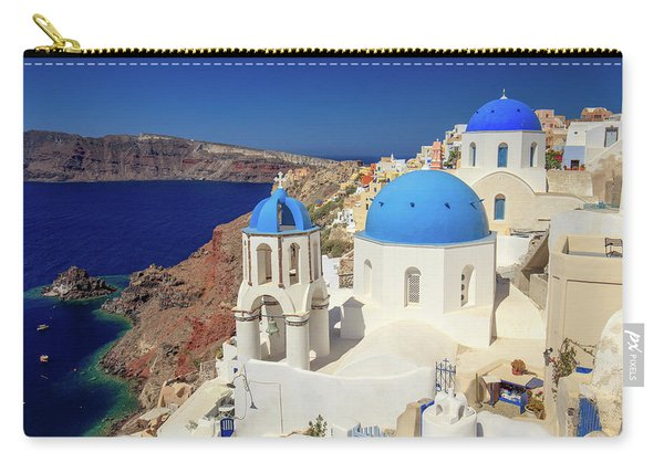Blue Domed Churches Carry-all Pouch