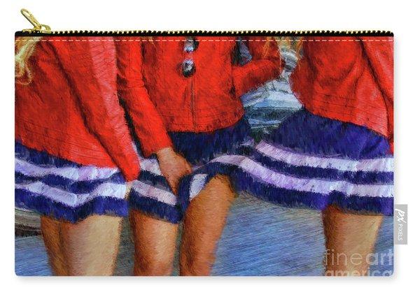 Blue Dress Breeze Carry-all Pouch