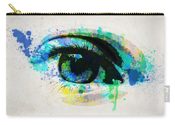 Blue Eye 8x10 Carry-all Pouch