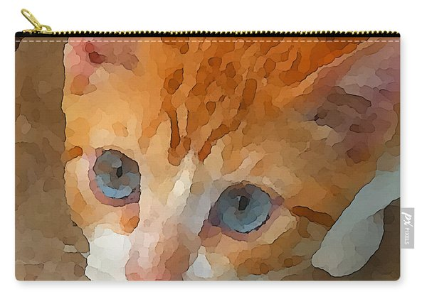Blue Eyed Punk  Carry-all Pouch
