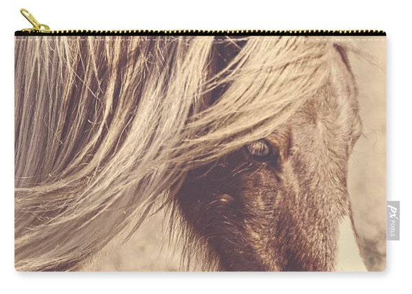 Blue Eyes Vintage Carry-all Pouch