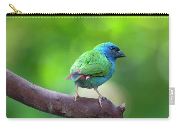 Blue-faced Parrotfinch Carry-all Pouch