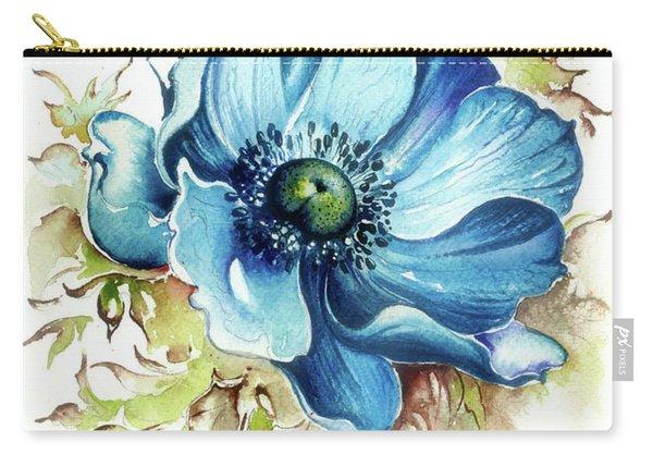 Blue Gem Carry-all Pouch