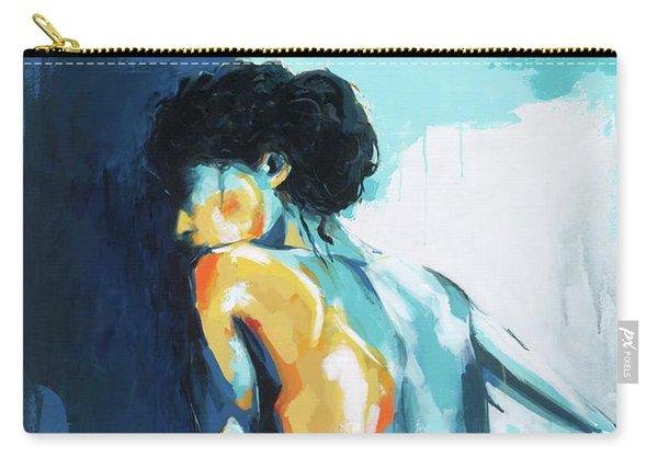 Blue Grace Carry-all Pouch