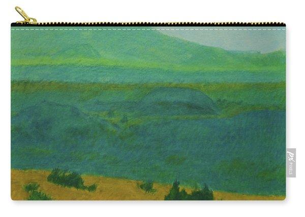 Blue-green Dakota Dream, 2 Carry-all Pouch