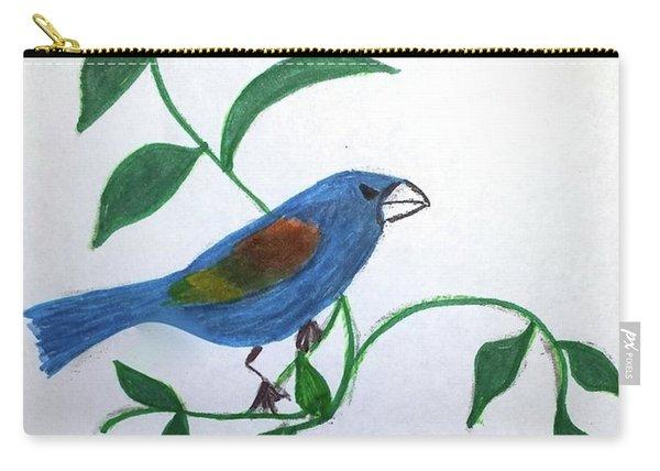 Blue Grosbeak Carry-all Pouch