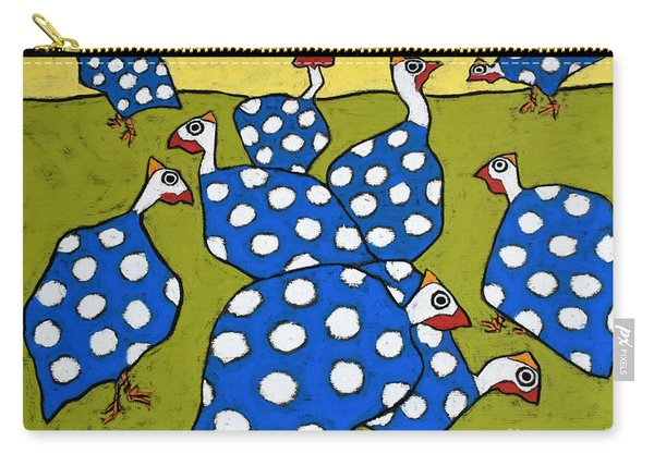 Blue Guineas Carry-all Pouch