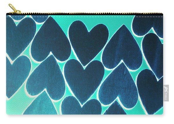 Blue Heart Collective Carry-all Pouch