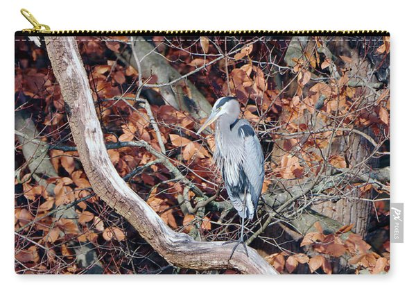 Blue Heron In Tree Carry-all Pouch