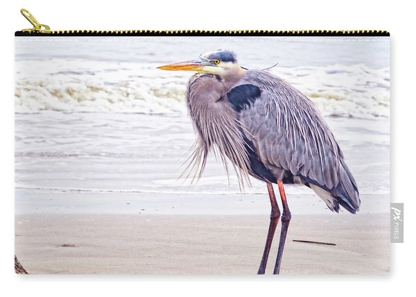 Blue Heron Watching Carry-all Pouch