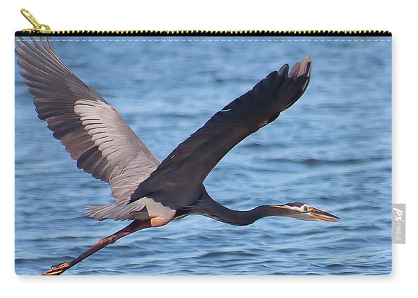 Blue Heron Wingspan Carry-all Pouch