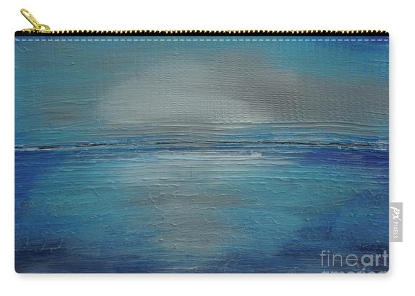 Carry-all Pouch featuring the painting Blue Horizon by Jimmy Clark
