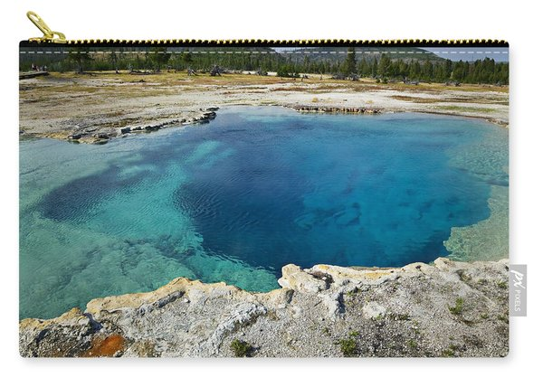 Blue Hot Springs Yellowstone National Park Carry-all Pouch