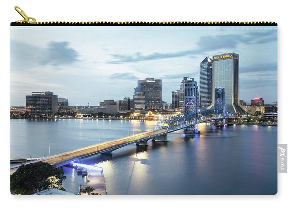 Blue Hour In Jacksonville Carry-all Pouch
