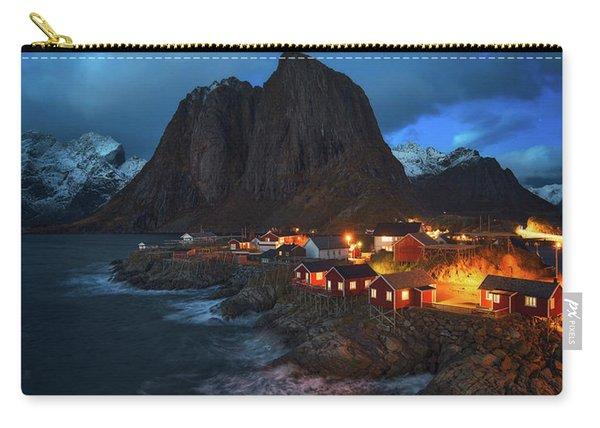 Blue Hour In Lofoten Carry-all Pouch