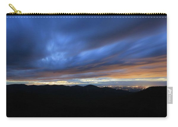 Blue Hour In Shenandoah Carry-all Pouch