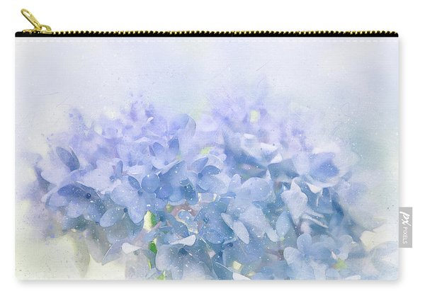 Blue Hydrangea Light Carry-all Pouch