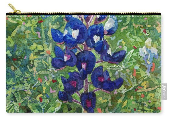 Blue In Bloom 2 Carry-all Pouch