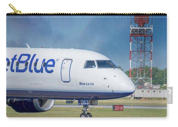 Blue La La Carry-all Pouch