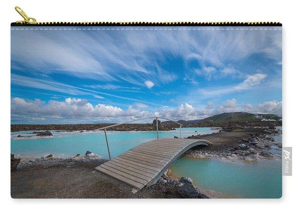 Blue Lagoon Bridge Carry-all Pouch