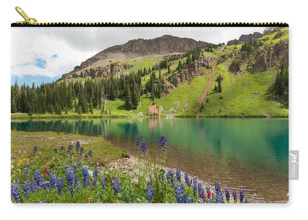 Blue Lakes Summer Splendor Carry-all Pouch