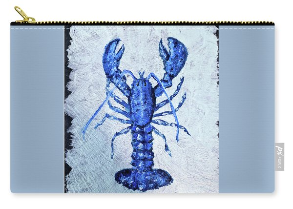 Blue Lobster 1 Carry-all Pouch