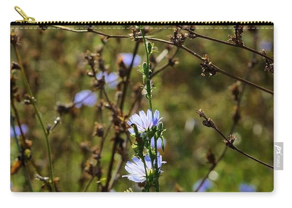 Blue Meadow Flowers Carry-all Pouch