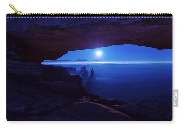 Blue Mesa Arch Carry-all Pouch