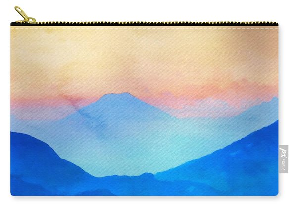 Blue Mountains Watercolour Carry-all Pouch