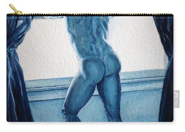 Blue Nude Carry-all Pouch