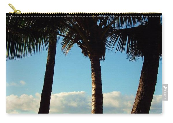 Blue Palms Carry-all Pouch
