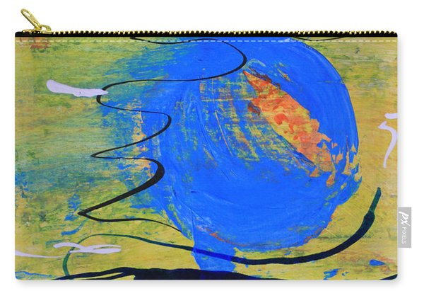 Blue Planet Abstract Carry-all Pouch