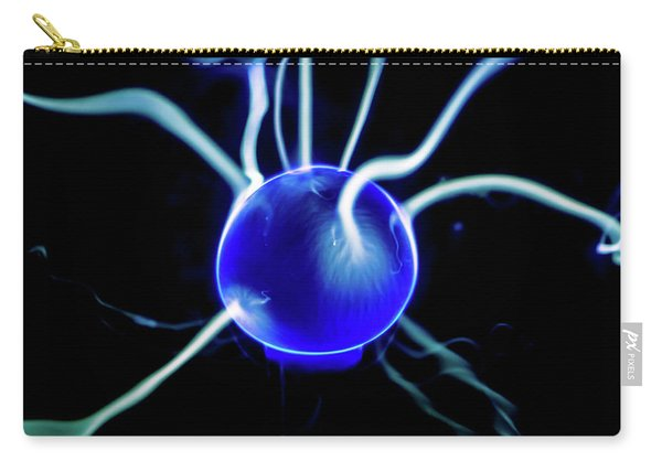 Blue Plasma Carry-all Pouch