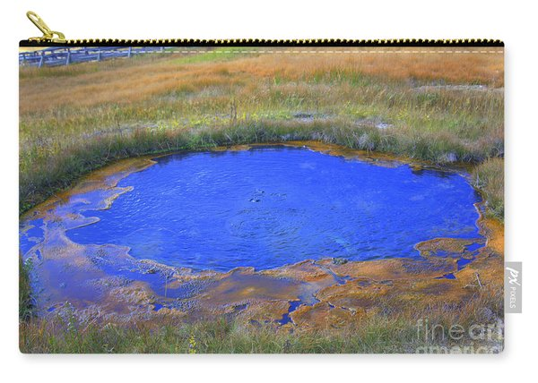 The Eye In Yellowstone Carry-all Pouch