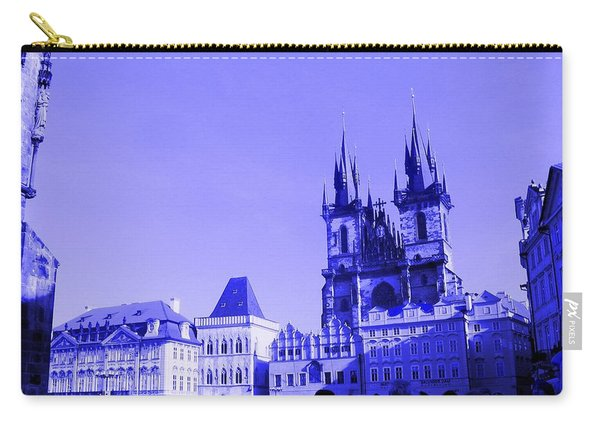 Blue Praha Carry-all Pouch