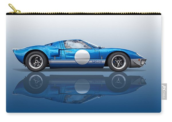 Blue Reflections - Ford Gt40 Carry-all Pouch