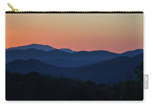 Blue Ridge Sunset Carry-all Pouch