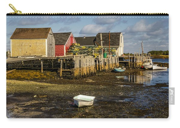 Blue Rocks, Nova Scotia Carry-all Pouch