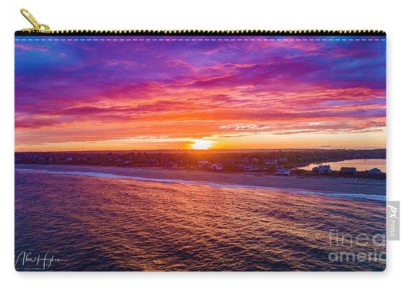 Blue Shutter East Beach Carry-all Pouch
