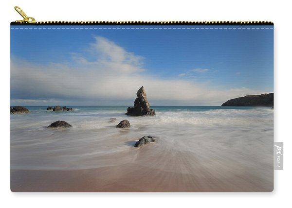 Blue Skies Above Sango Bay Carry-all Pouch