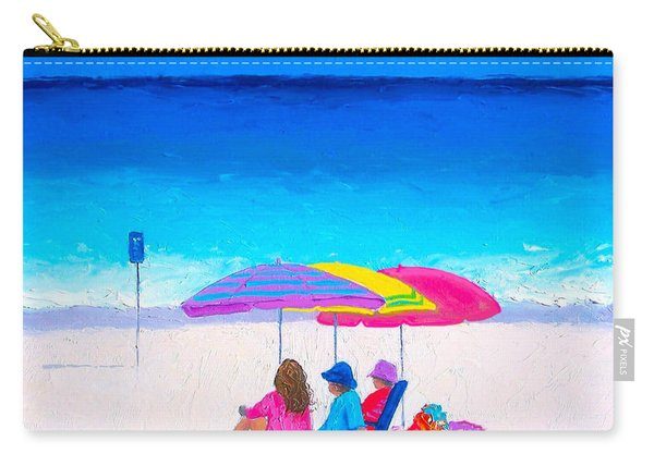 Blue Skies Clear Water Carry-all Pouch