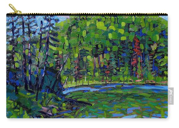 Blue Sky Greens Carry-all Pouch