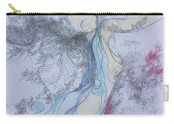 Blue Smoke And Mirrors Carry-all Pouch