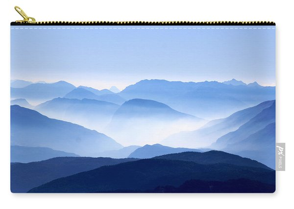 Blue Smoky Mountains Carry-all Pouch