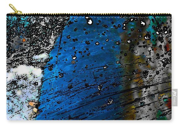 Blue Spectacular Carry-all Pouch