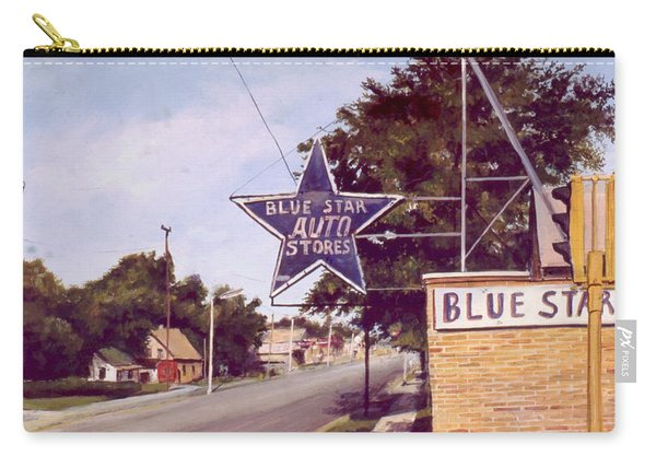 Blue Star Auto Carry-all Pouch