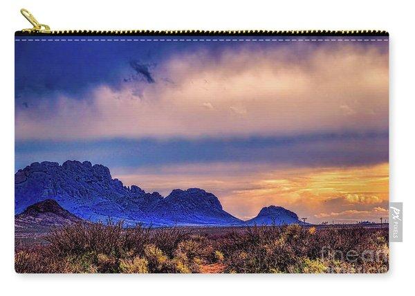 Blue Sunset Nm-az Carry-all Pouch
