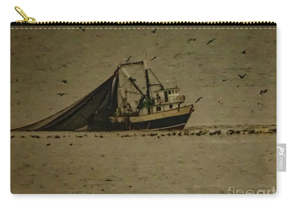 Blue Trawler 2 Carry-all Pouch