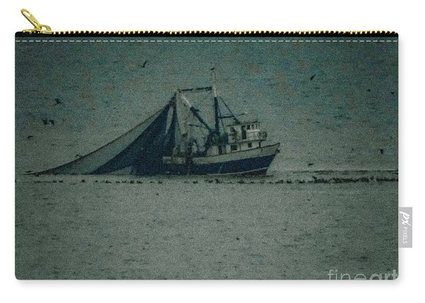 Blue Trawler 3 Carry-all Pouch